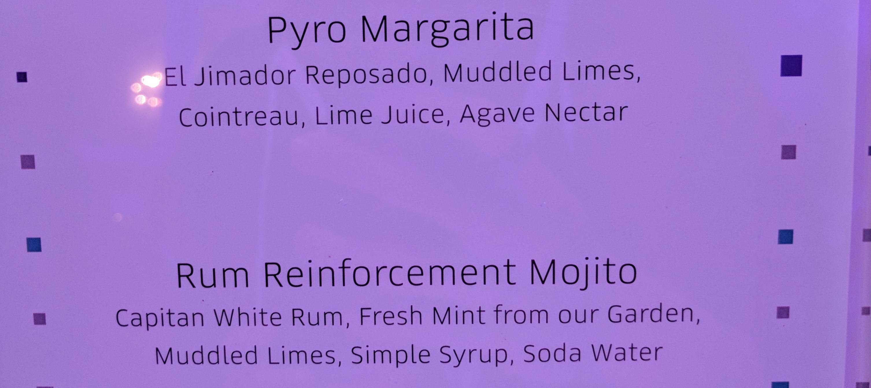 Pyro drink